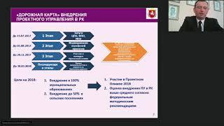 Организация проектной деятельности органов власти Республики Крым