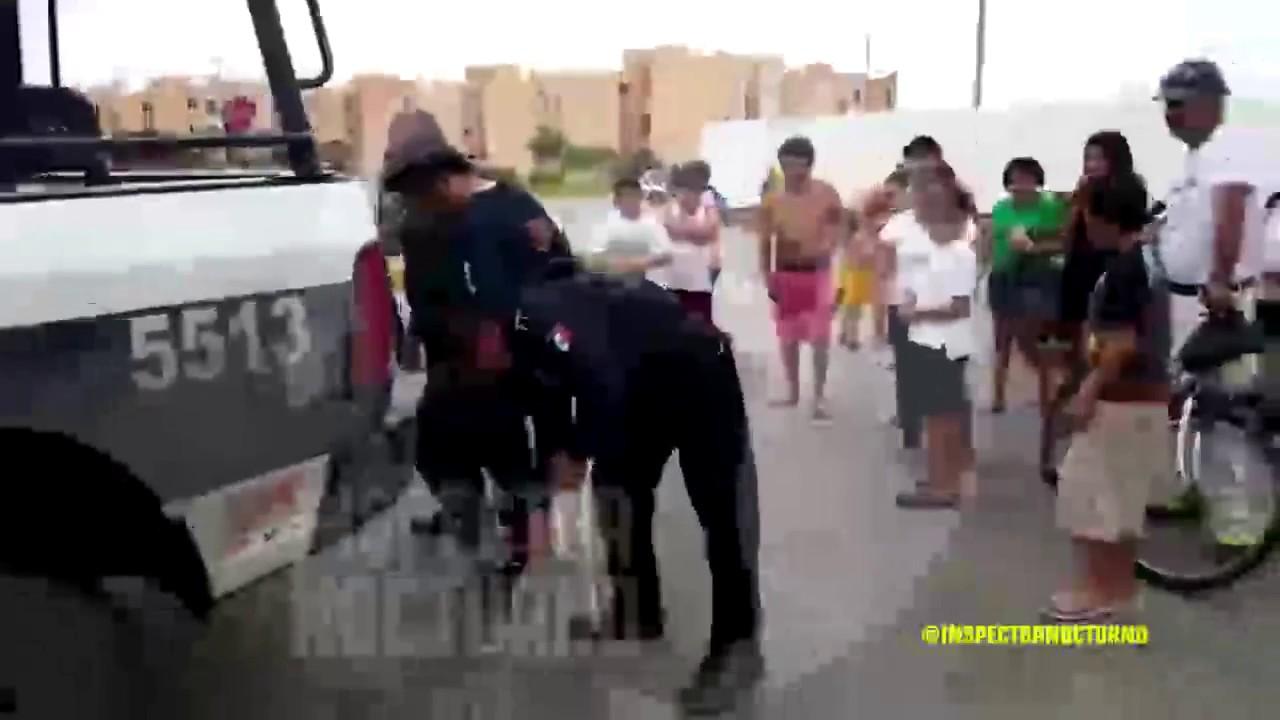 Sujeto detenido en villas otoch para so inspector for Villas otoch paraiso