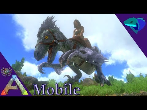 100K MELEE 300K HEALTH RAPTOR! CAN WE KILL THE TITAN? ARK: Mobile Extras thumbnail