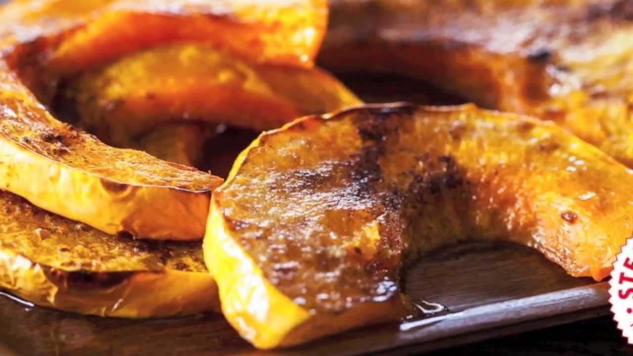 How to roast pumpkin recipe - YouTube
