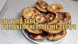 Custard Tarts In a Piemaker Thermochef Video Recipe cheekyricho