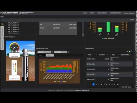 Landmark DecisionSpace® Production: Getting Started With Asset Monitoring