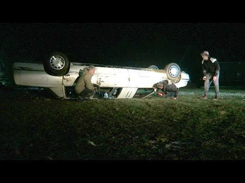 WE FLIPPED OUR LIMO!!