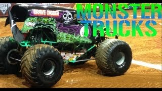 MONSTER TRUCK SHOW WITH GRAVEDIGGER & SUPERMAN