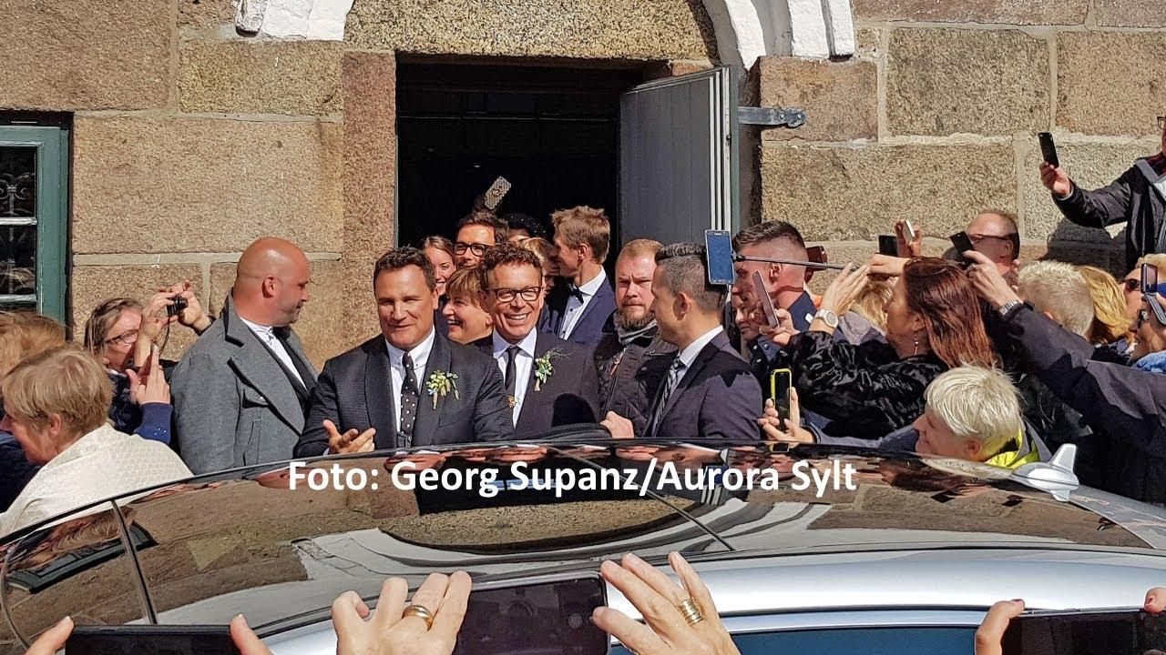 reputable site 9e8e0 42a17 Guido Maria Kretschmer heiratet auf Sylt und viele prominente Gäste kamen