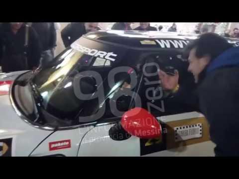 Video esclusivo. La partenza della coppia Amendolia alla Targa Florio