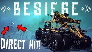 Besiege Best Creations - The BEST Sniper in Besiege - First Besiege Waifu.. WTF? - Besiege Gameplay