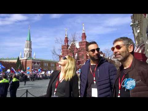 Celebrity Travel - Moscow Part 1 S01E03 10/05/2017