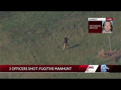 Watch: wanted gunman arrested in delafield