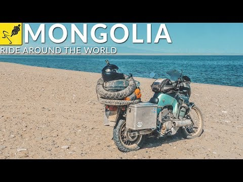 SOLO MOTORCYCLE RIDE Around the WORLD, Asia - Mongolia