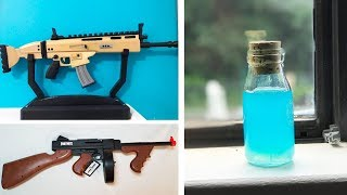 Top 12 FORTNITE THINGS in REAL LIFE *you won't believe they exist*