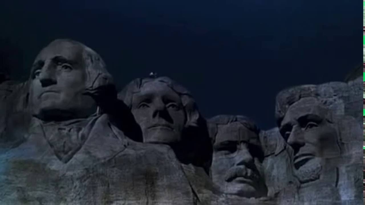 Image result for mount rushmore north by northwest