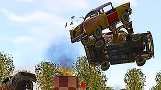 HUGE MID-AIR COLLISIONS! - Test Drive : Eve of Destruction