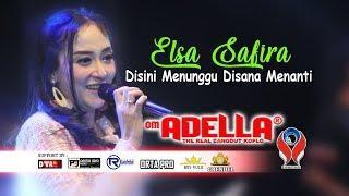 Download Mp3 Elsa Safira - Disini Menunggu Disana Menanti  Om.adella Live Jombang   Karaoke V