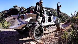 NEW EXOTIC $150,000 JEEP BUILD OFF ROAD TEST DRIVE! thumbnail