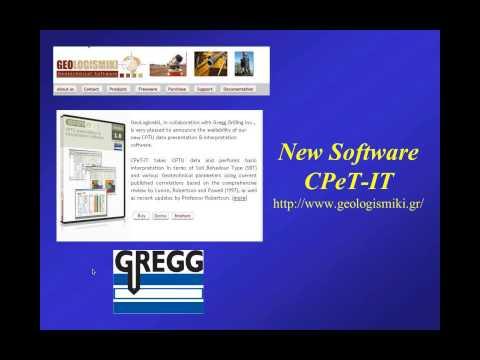 Webinar #2: CPT Interpretation Presented by Dr. P.K. Robertson Dec. 14, 2012