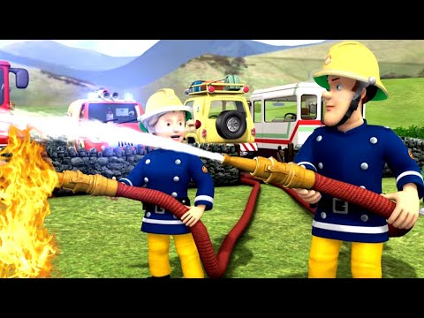Download Youtube: Fireman Sam New Episodes | SPECIAL Happy Birthday Sam ⭐ Norman Fires Up Dilys Birthday | Kids Movies