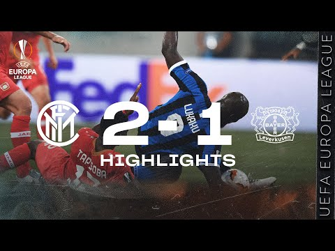 INTER 2-1 LEVERKUSEN | HIGHLIGHTS | 2019/20 UEFA Europa League Quarter Finals 🏆⚫🔵