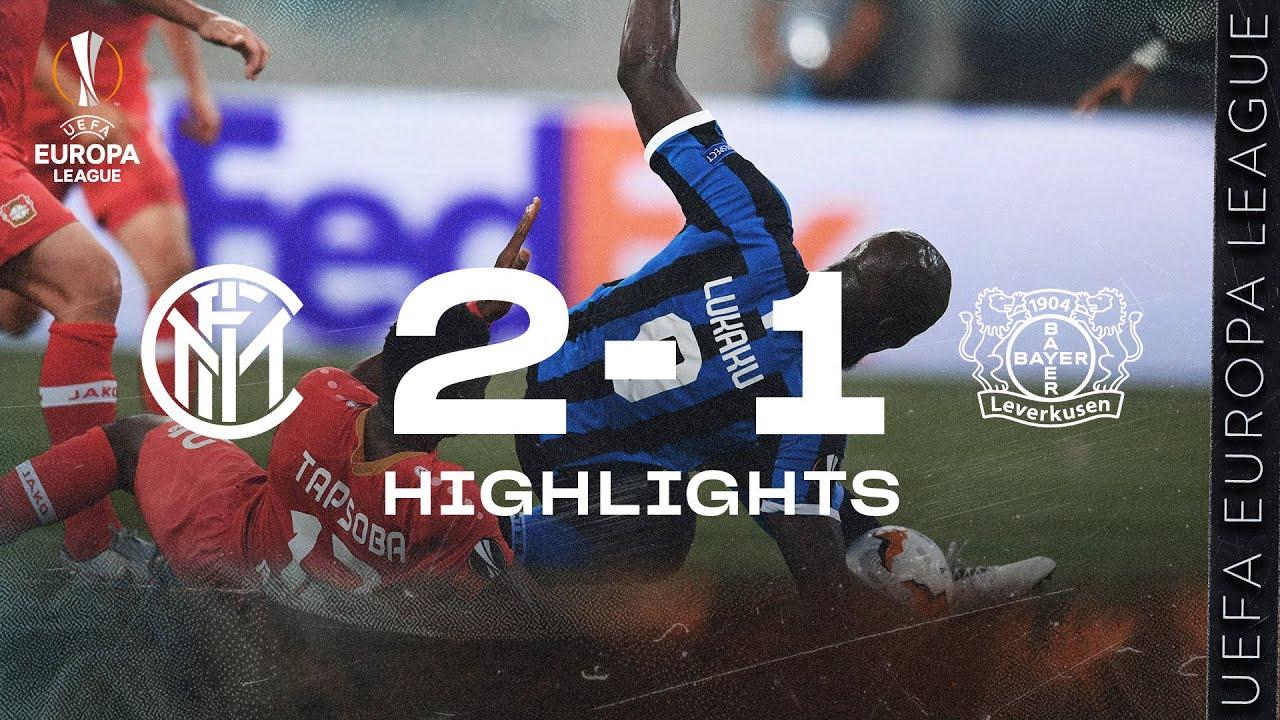 INTER 2-1 LEVERKUSEN | HIGHLIGHTS | 2019/20 UEFA Europa League Quarter Finals 🏆⚫🔵