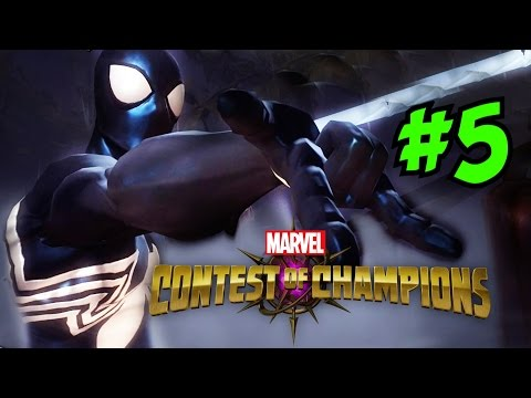MARVEL: CONTEST OF CHAMPIONS Gameplay [5] ★ Arachnid Action Quest FULL Heroic Playthrough!