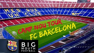 Camp nou tour fc barcelona stadium ...