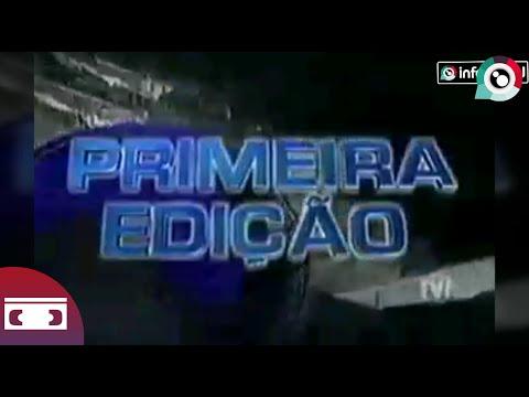 Arquivo: Escalada Jornal Primeira Edição | TV! 1999