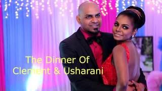 Wedding Dinner  Highlights of Clement Francis & Usha Rani by Flash Photography & Cinematography