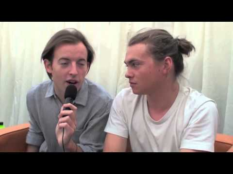 Bombay Bicycle Club interview at Reading Festival 2012