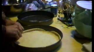 Making Chicago Style Deep Dish Pizza