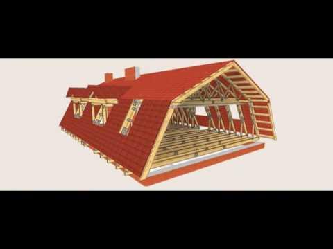 Крыша мансарда своими руками