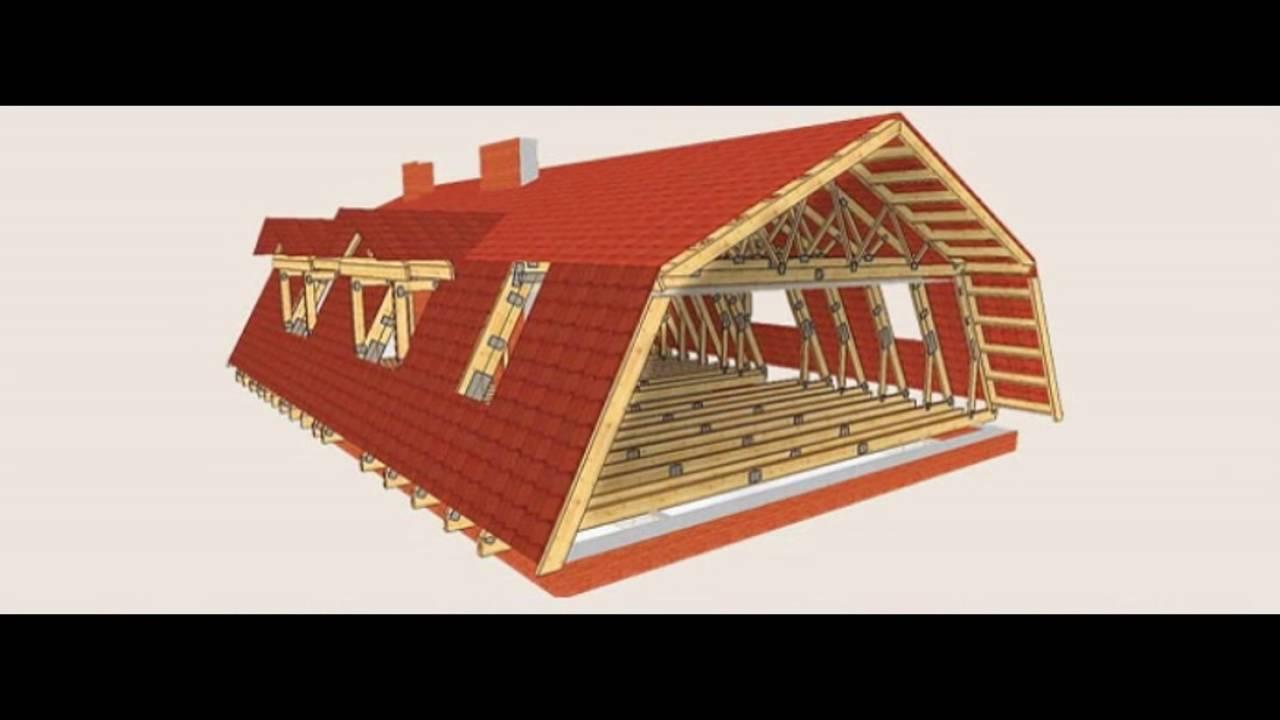 Как сделать крышу мансарды видео фото 760