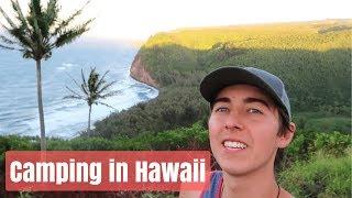Hawaii Camping Trip 🌴Vlog Day 1
