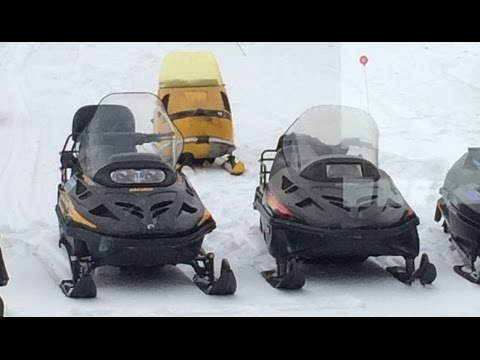 97 vs 07 Ski Doo Skandic WT Comparison