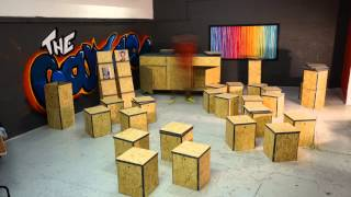 All In A Box - Foldable Furniture System