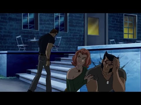 Scott Fights Wolverine/messes Up With Jean (Wolverine And The X-Men)