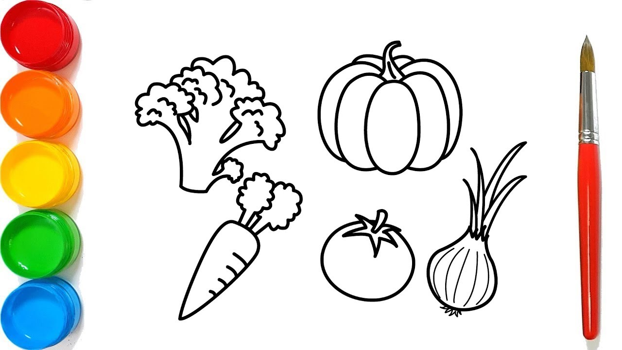 Como Dibujar Frutas Y Verduras Para Ninos Dibujos Para Dibujar