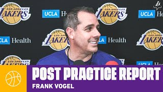 Frank Vogel on Dion Waiters, and his role on the team | Lakers Practice Report