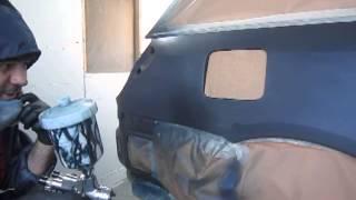 Ремонт Subaru Legasy - заключительная часть (покраска, результат)