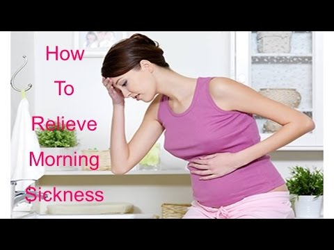 How to Relieve Morning Sickness During Pregnancy