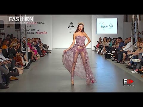 VIRGINIA VALD Reinas Highlights Spring Summer 2018 Madrid Bridal Week - Fashion Channel