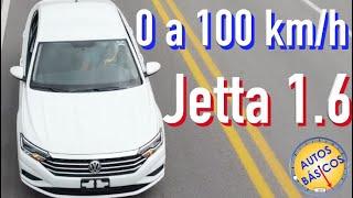 Jetta Startline motor 1.6 prueba 0 a 100 ¿Realmente es muy lento?