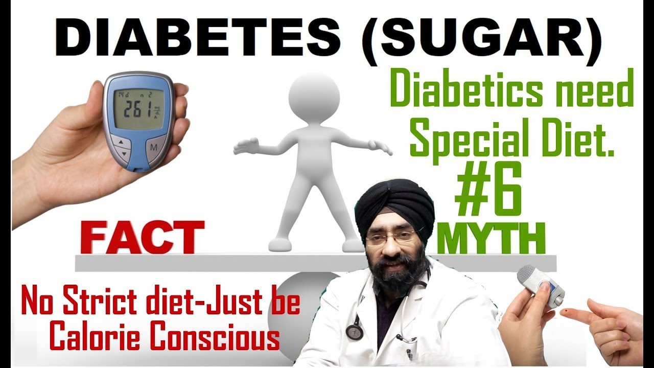 Rx Sugar epi 11 h : Special Diabetic diet is needed to control blood sugar | Myth 6 | Dr.EDUCATION