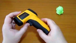 меряем температуру ИНФРАКРАСНЫМ термометром GM550 - обзор #159