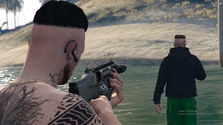 GTA V : VIDA DO CRIME : JAMAIS DE AS COSTAS AO SEU INIMIGO !! EP.#92