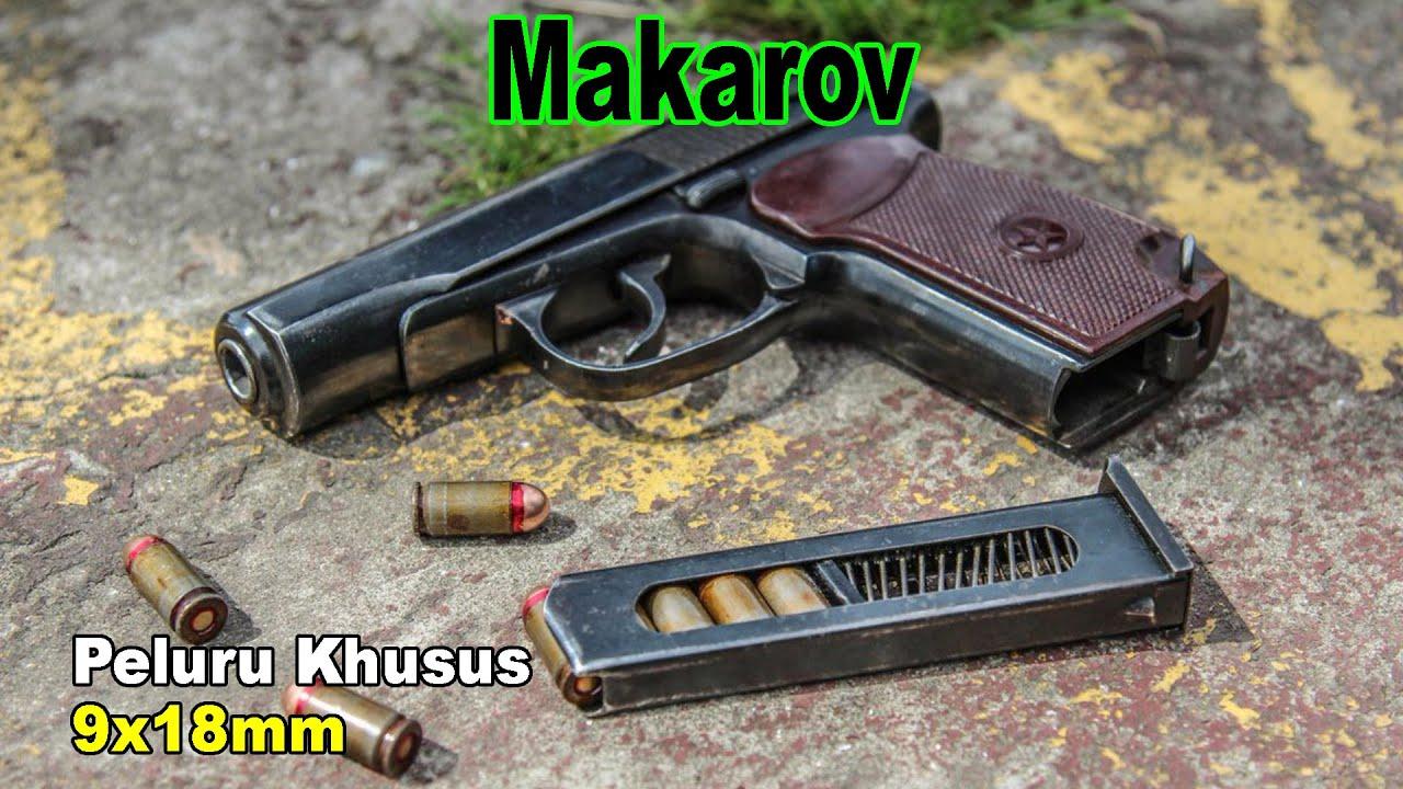 Tidak Ingin Pelurunya digunakan NATO, Inilah Makarov Dari Negeri Beruang Merah