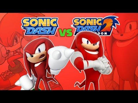 Sonic Dash vs Sonic Dash 2 & Knuckles