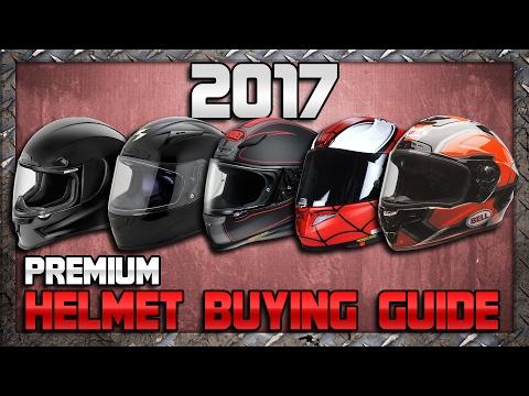 2017 Premium Motorcycle Helmet Buying Guide from Sportbiketrackgear.com