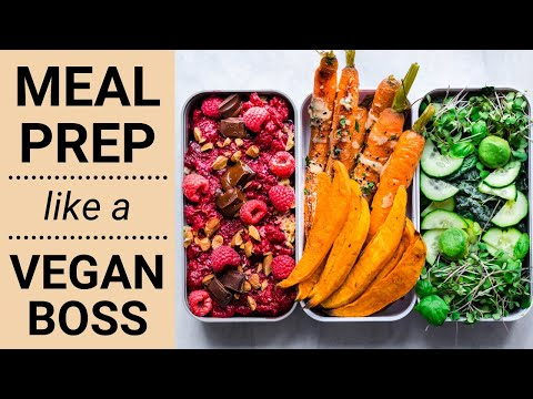 VEGAN MEAL PREP HACKS | how to save time in the kitchen