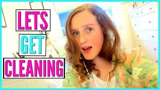 Spring Cleaning My Room and Mini Room Tour - Chloe's Vlogs