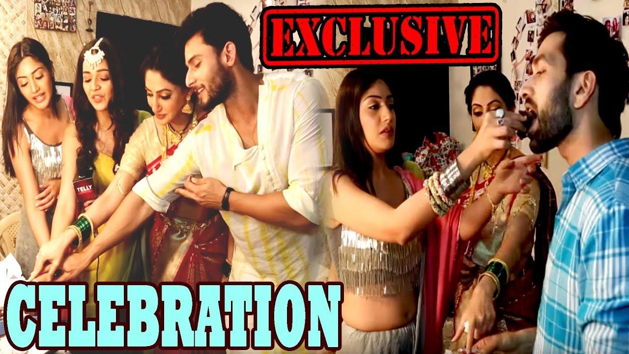 Ishqbaaz: Team Ishqbaaz Celebrates 350 Episodes Completion   EXCLUSIVE